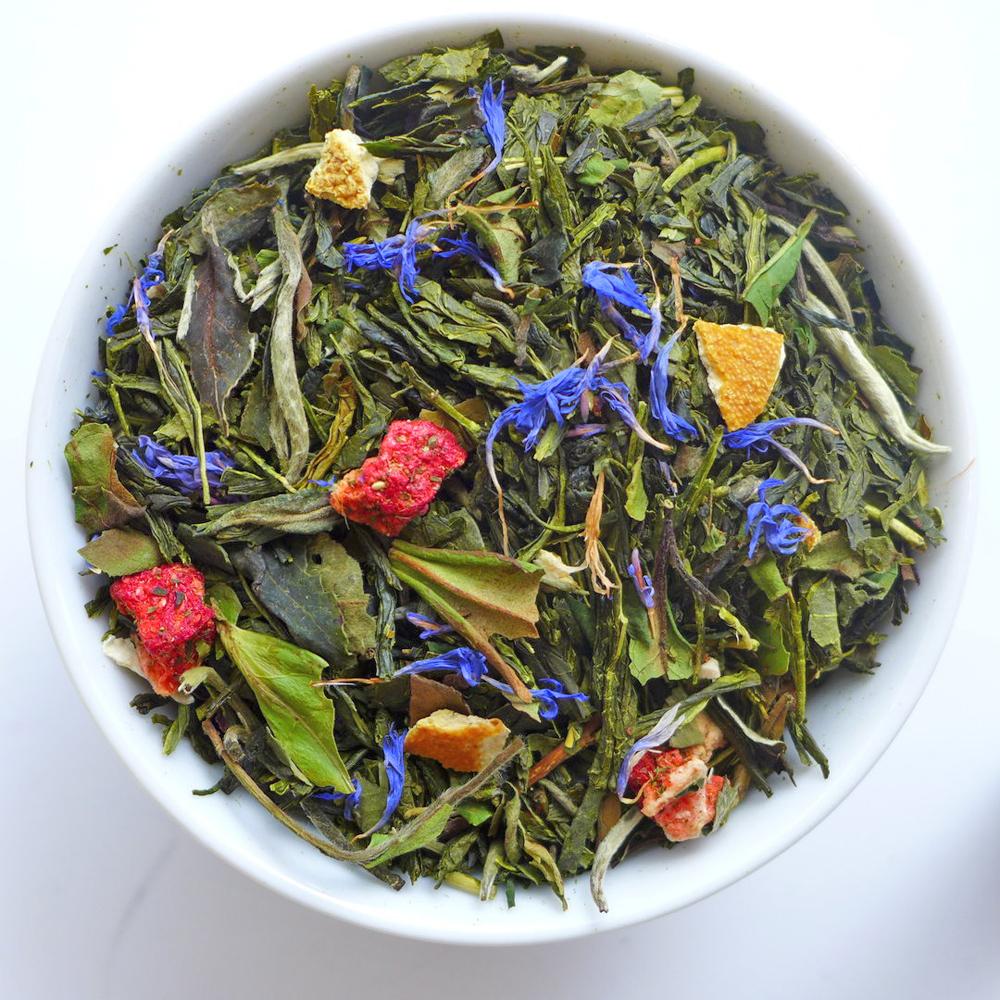 Grüner & Weißer Tee - aromatisiert